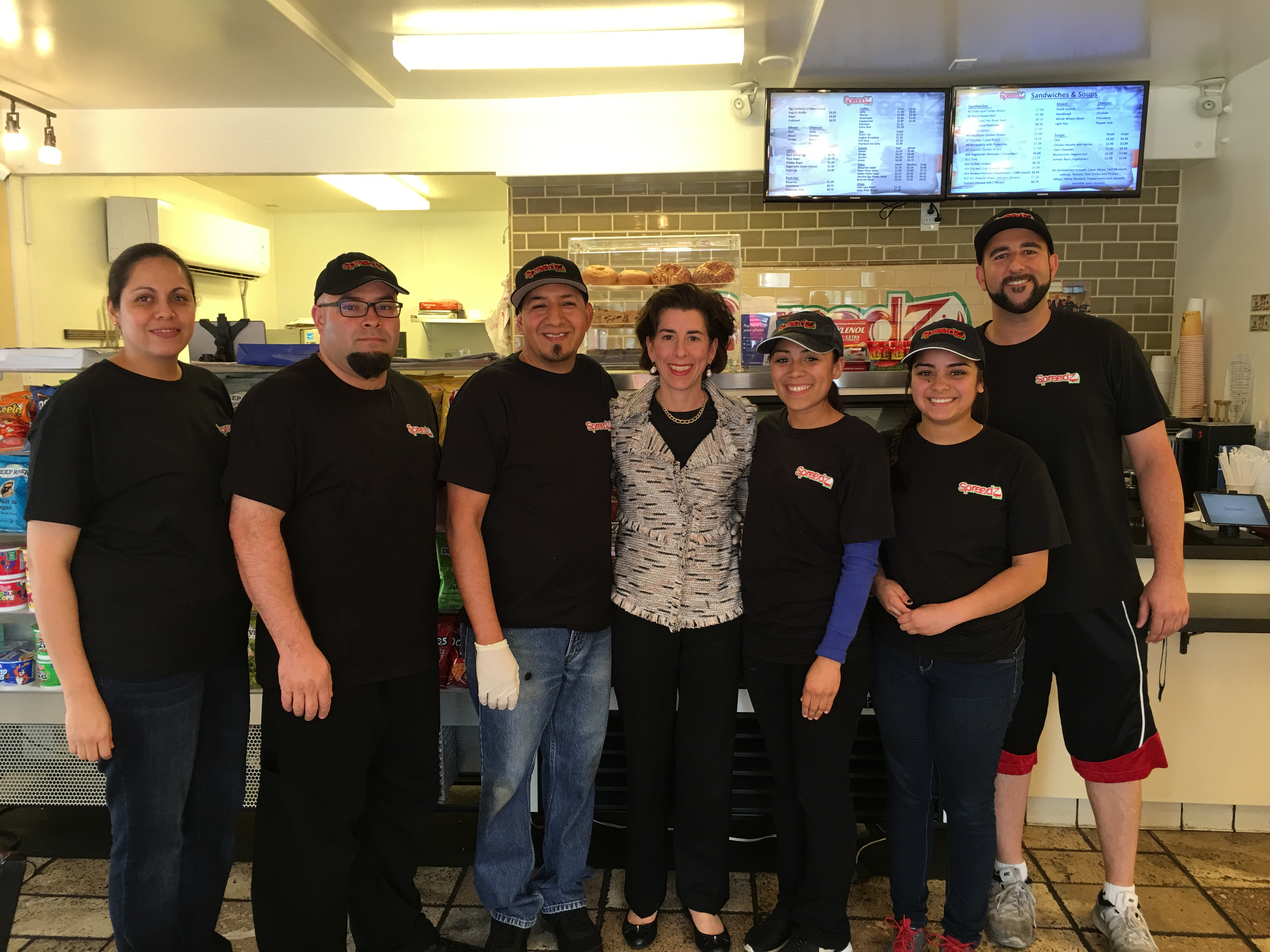 Gina Raimondo Rhode Island Governor at Spreadz